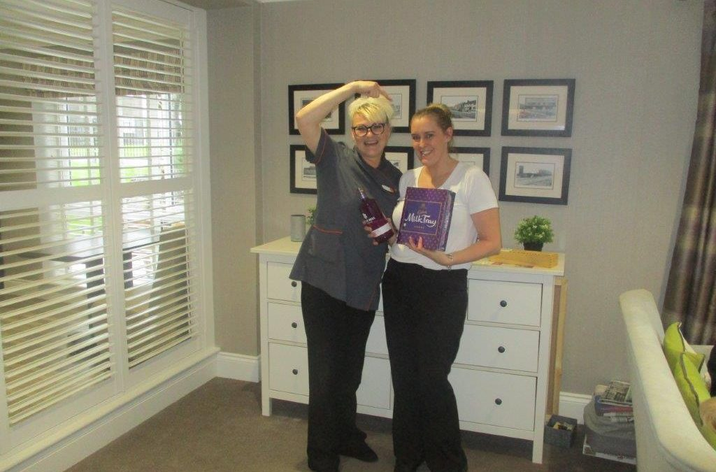 Peterlee care home worker offers colleague lifesaving advice