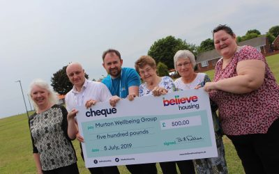 Murton health group awarded £500 grant to purchase exercise and sports equipment