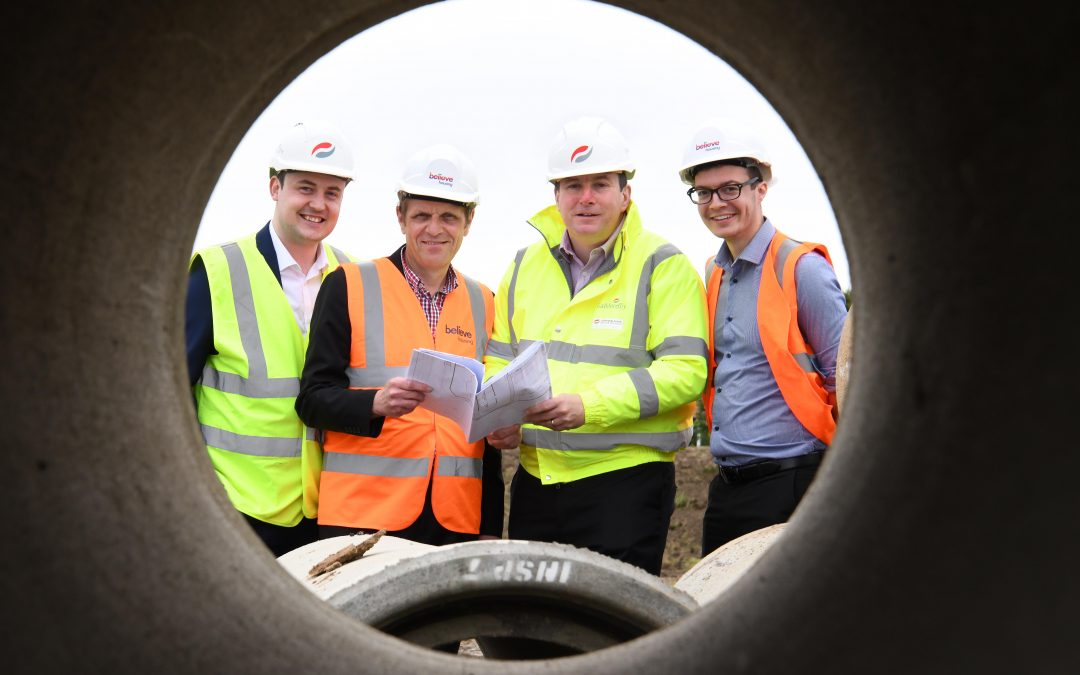 £8m affordable housing project is underway in Peterlee