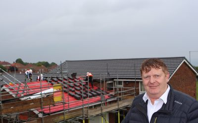 Improvement works on 50 affordable homes in Horden nears completion