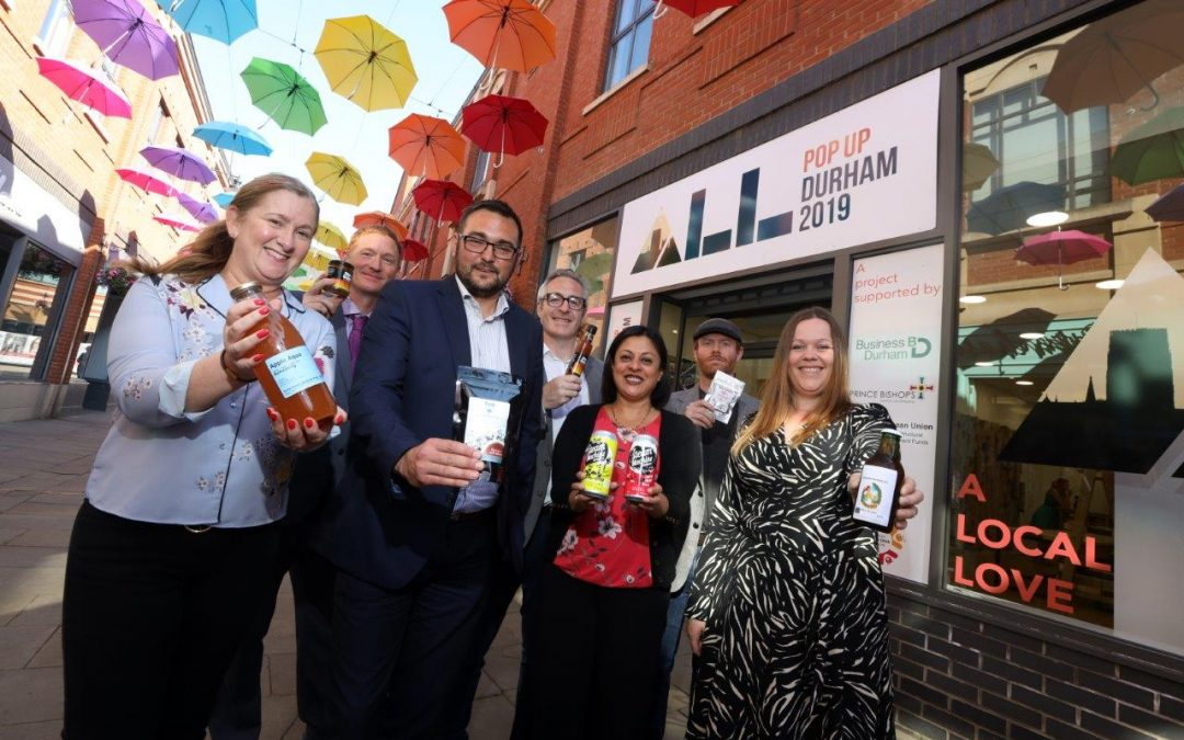 Pop-up space to showcase County Durham food produce proves a hit with shoppers