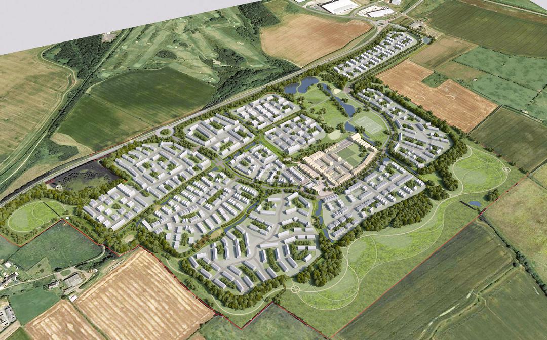 Major new housing and development scheme in Seaham given 'garden village' status