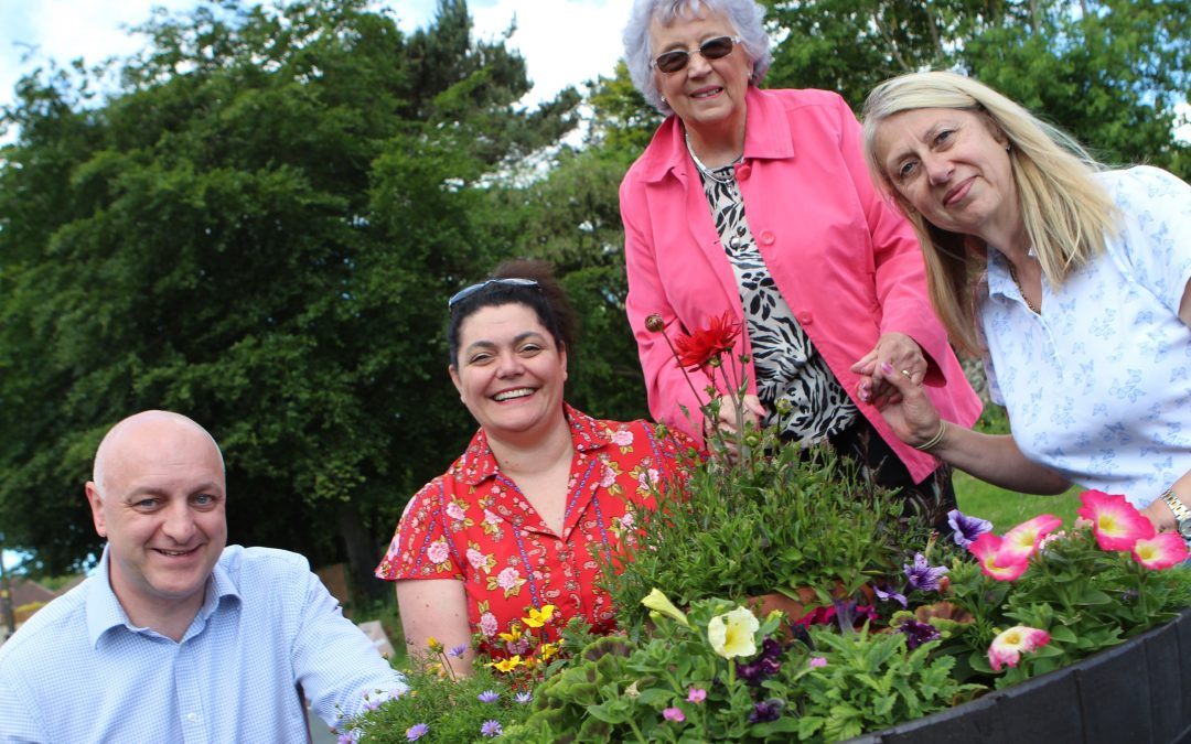 Funding boost is blooming marvelous for voluntary group