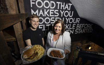 Burger chain Fat Hippo confirmed as caterer for regional manufacturing event