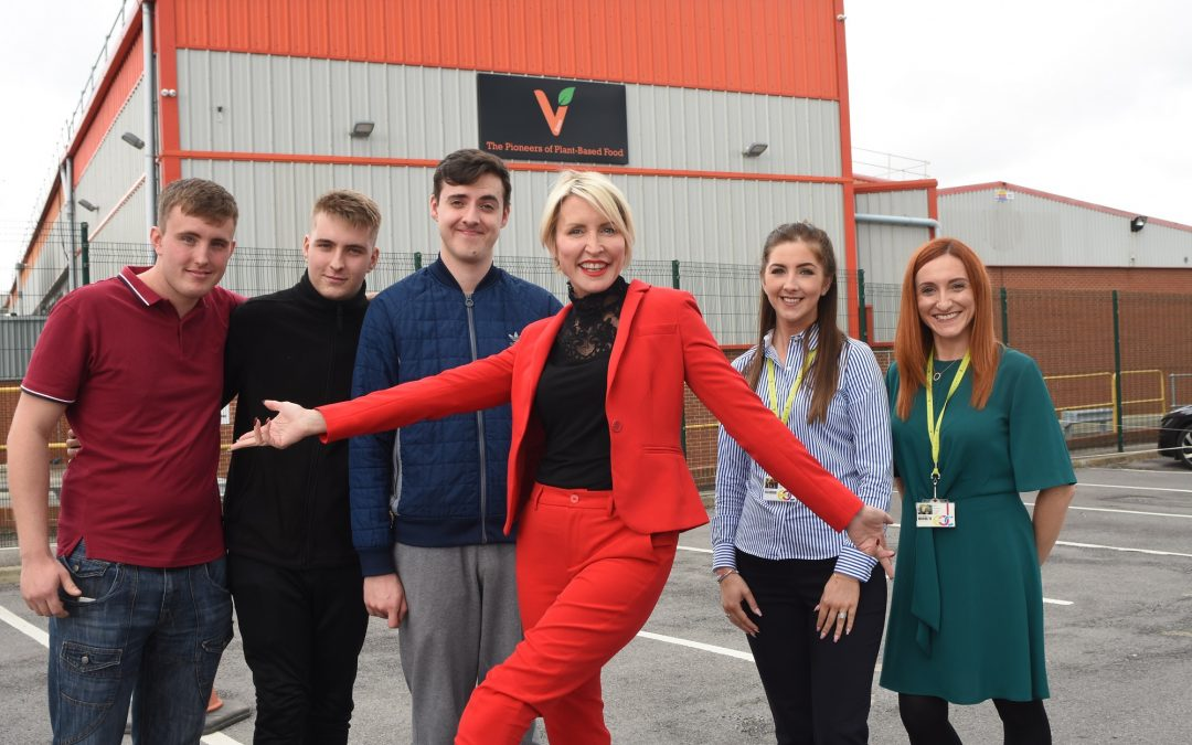 Talented trio get their teeth stuck into apprenticeships at Heather's Peterlee plant