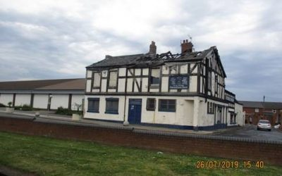 Owners of fire-damaged building in Seaham ordered to demolish structure