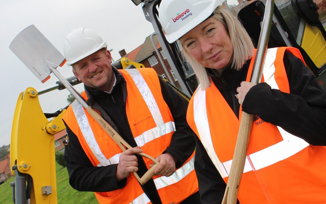 Work starts on £6.9m affordable homes scheme in Murton