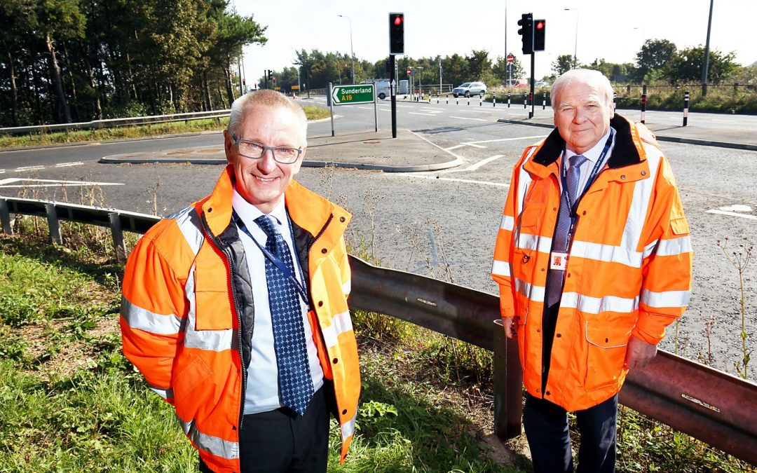 £1.4m road safety improvement scheme near Wingate is now complete