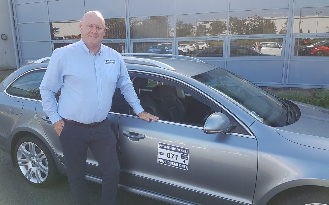 Neil in the driving seat to business success after redundancy from Walkers