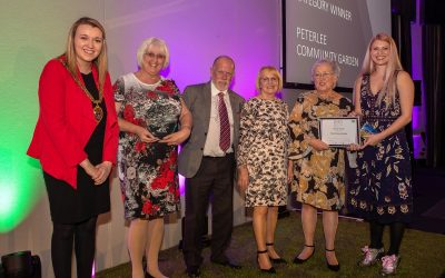 Peterlee community garden triumphs at environmental awards