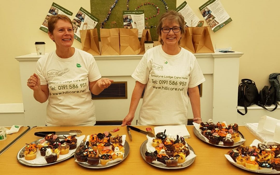 Frightfully tasty cake sale organised by Peterlee care home raises funds for cancer charity