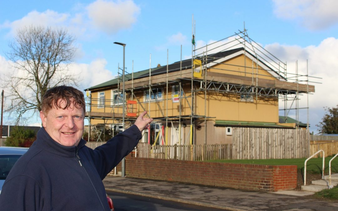 Rare postwar homes across East Durham given makeover in £138m improvement programme