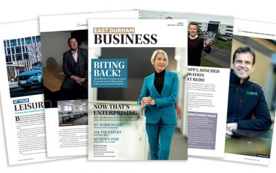 Issue two of East Durham Business magazine out now