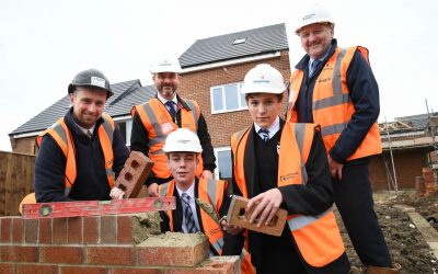 Construction students from Seaham build a brighter future thanks to onsite training