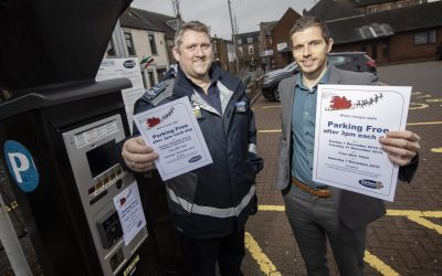 Council gets in the festive spirit to offer 'Free after 3' parking for shoppers