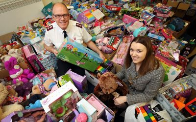 Children and young people enjoy a merrier Christmas thanks to generous council staff