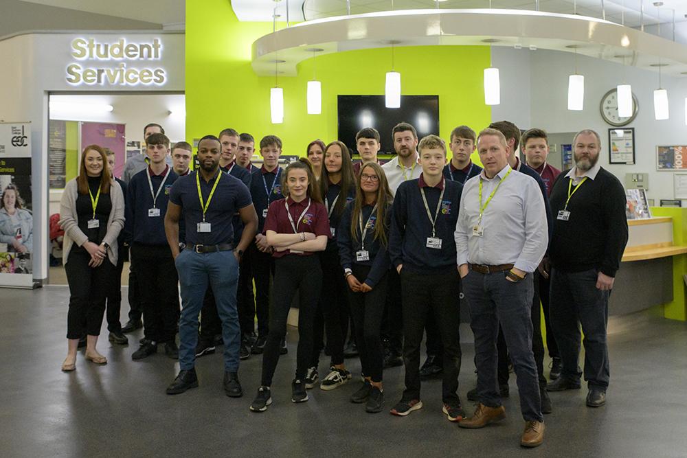 East Durham College nominated for prestigious national award
