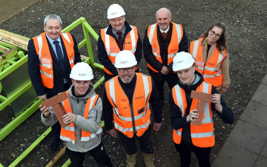 East Durham youngsters constructing careers through new industrial programme