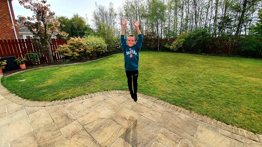 East Durham youngsters go 'burpee' to raise money for the NHS