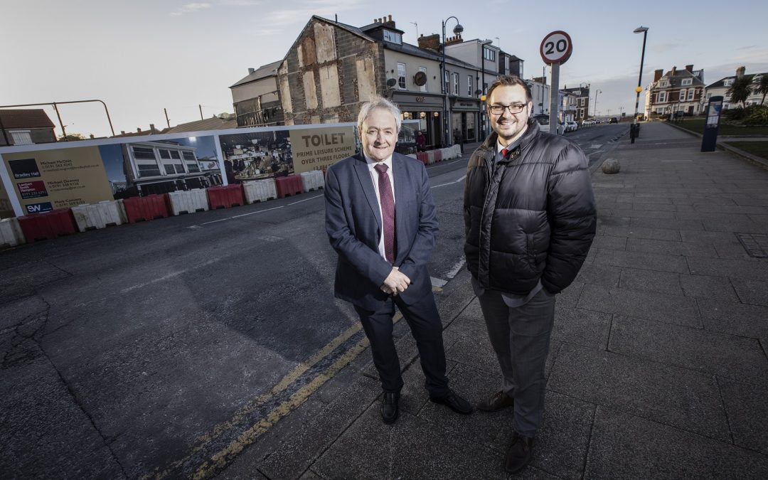 Work starts on mixed use development on Seaham's North Terrace