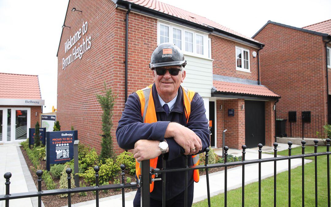 Seaham housing development site manager wins prestigious national award