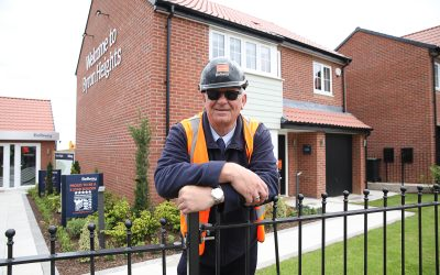 Seaham housing development site manager wins prestigious national award
