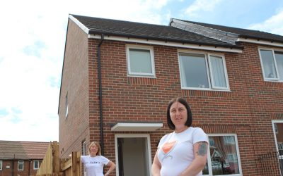 Redundant site in Seaham transformed into low-cost housing development