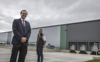 Jade Business Park near Murton officially welcomes first tenant