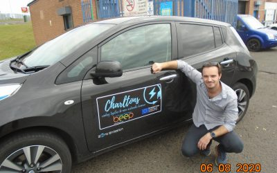 BEEP BEEP as Peterlee takeaway invests in electric vehicle with help of energy scheme