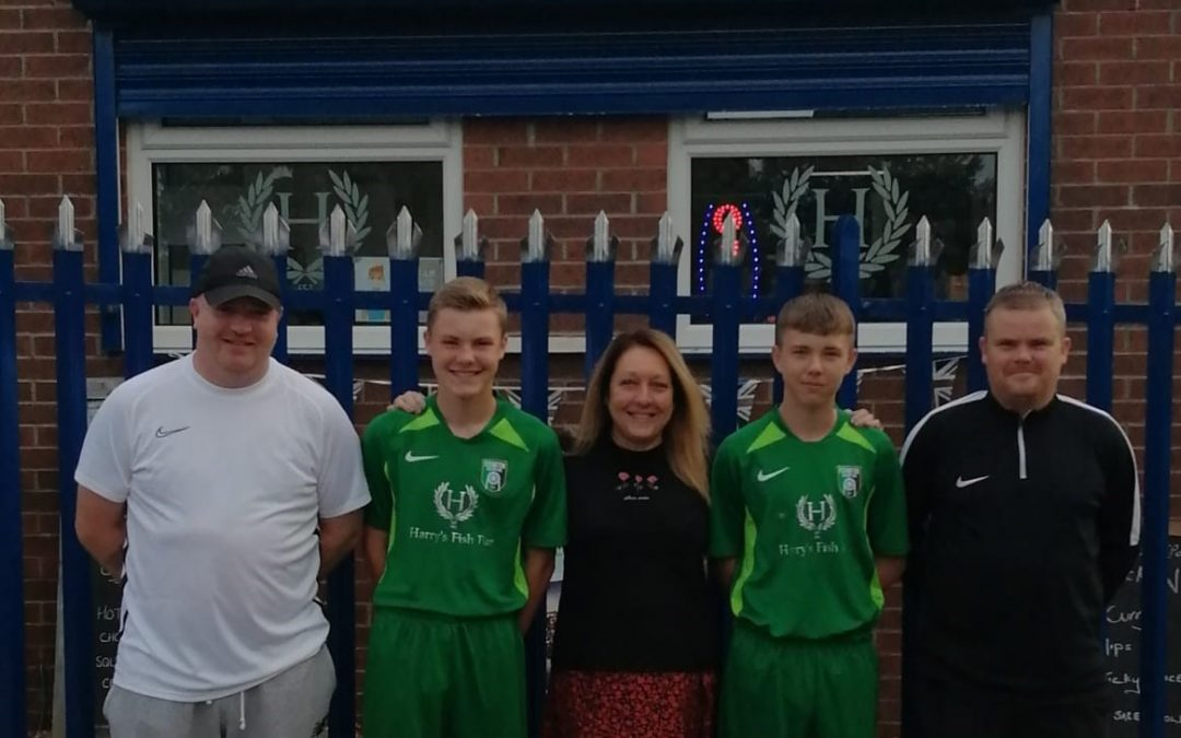 Fish and chip shop agree sponsorship of Easington youth football team