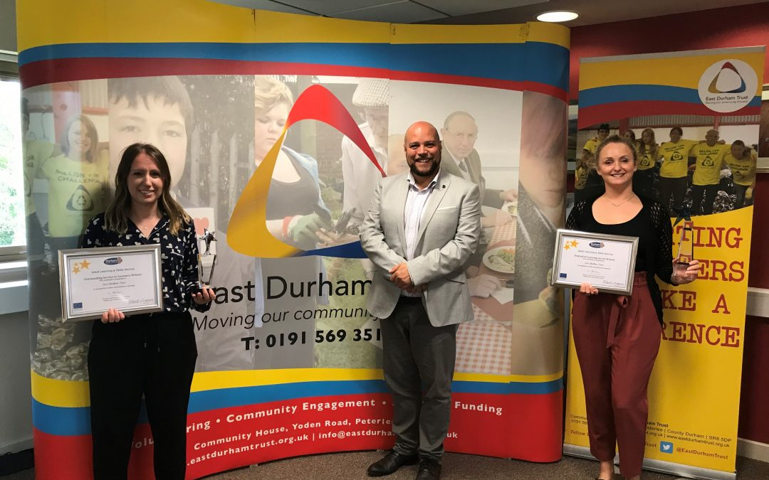 East Durham Trust among the winners at county-wide awards celebrating adult learning