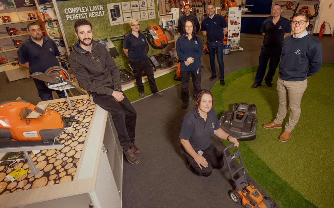 Peterlee company GEM Training helps over 50 people onto Husqvarna career ladder