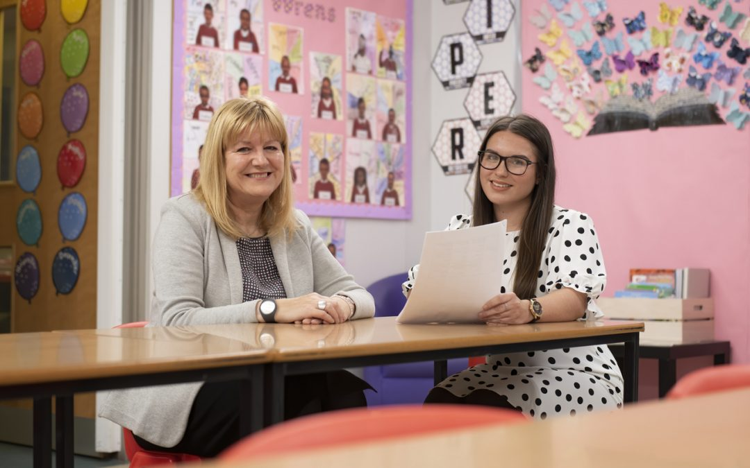 Former East Durham College student lands her dream teaching job