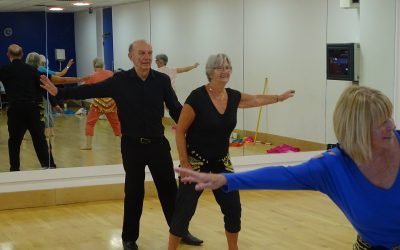 Over 65s encouraged to 'fall on their feet'