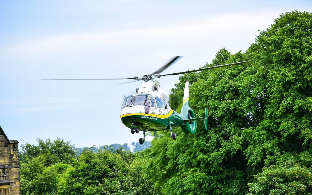 Dalton Park stores and customers raise over £1,400 for the Great North Air Ambulance