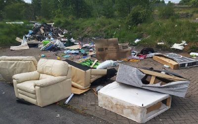 Horden man fined and left with criminal record after admitting fly-tipping