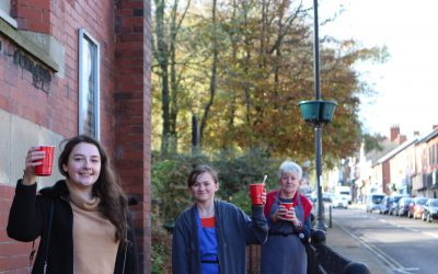 Community cafe back up and running thanks to housing association funding