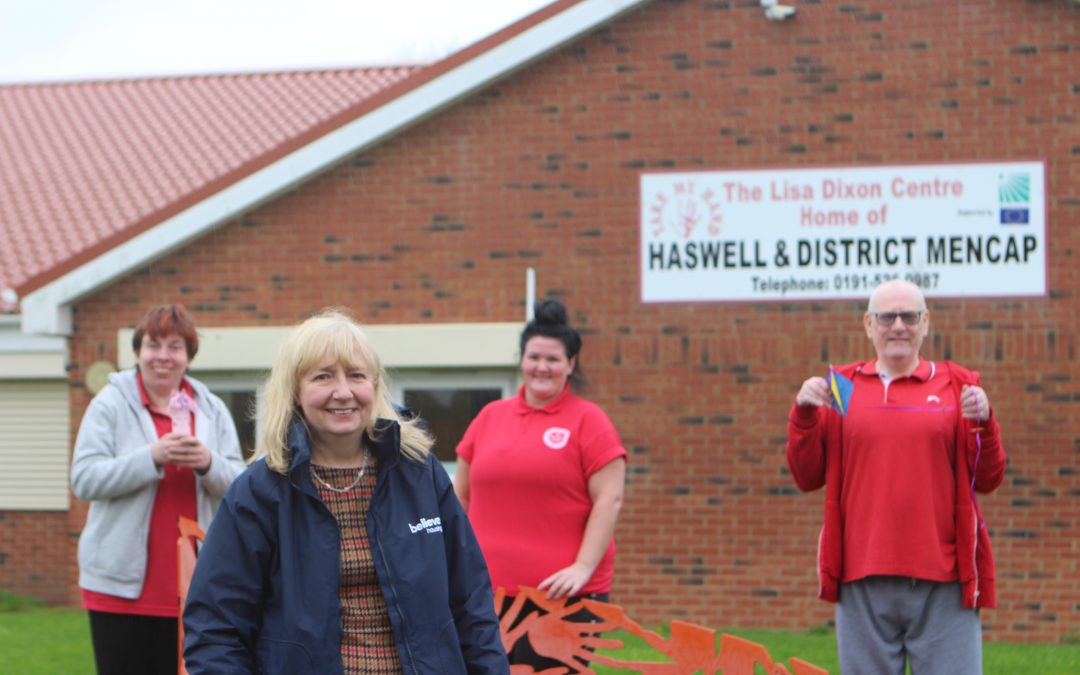 Haswell charity tackles isolation thanks to housing association grant