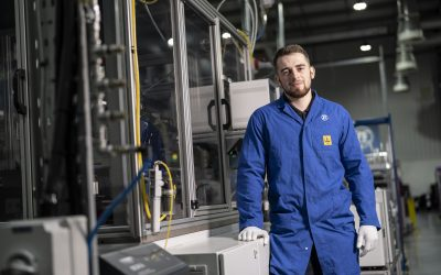 Peterlee company ZF backs up commitment to investing in young talent with apprentice promotion