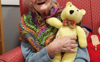 Knitted gifts bring smiles to the faces of Peterlee care home residents