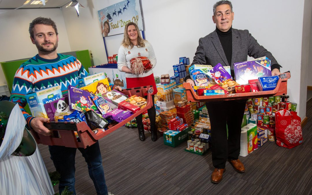 Seaham company's staff get into the festive spirit to help families this Christmas