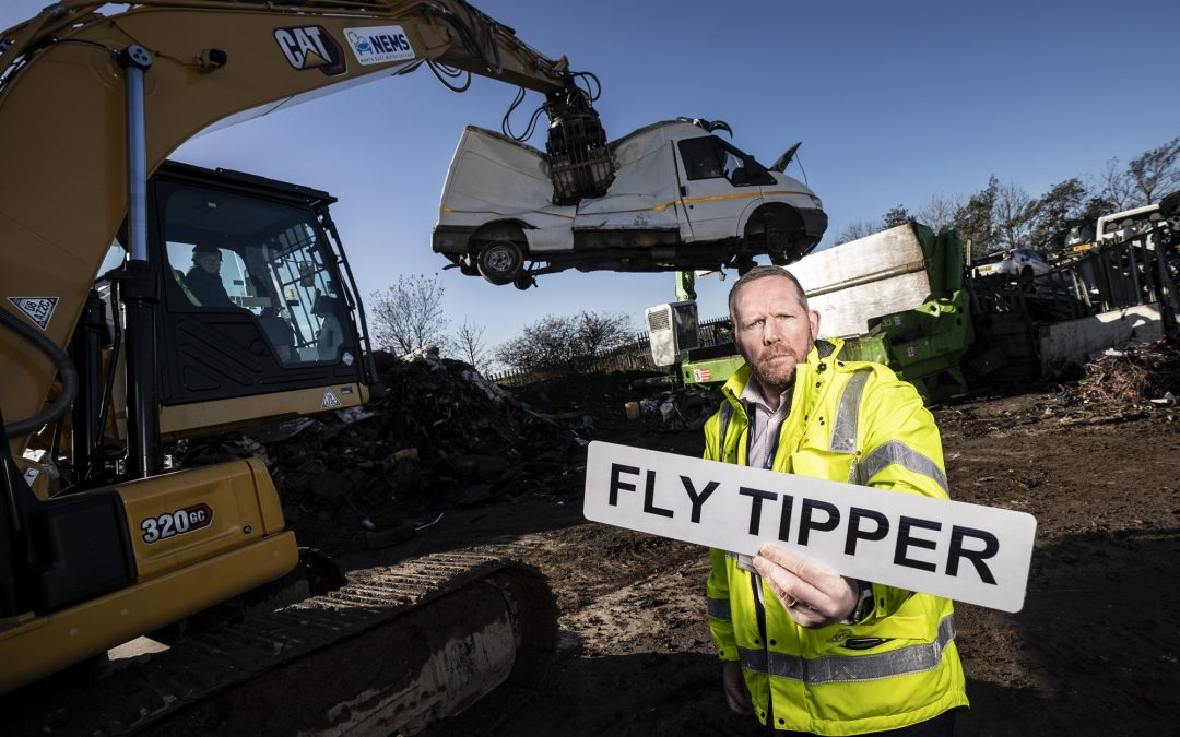 Flytippers warned they could lose their vehicles as Christmas campaign launches