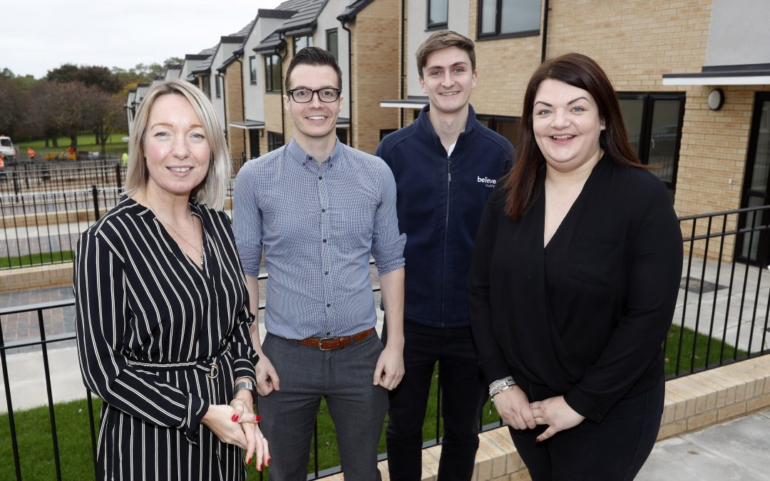 Prestigious national award win for Believe Housing