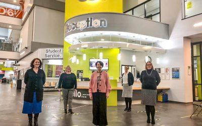 East Durham College celebrates International Women's Day as students return