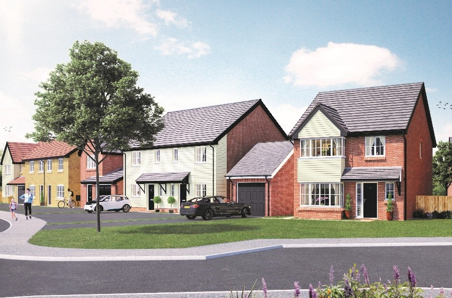 First properties at new Wingate housing development released for sale