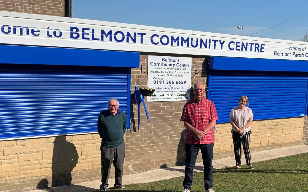 Four-figure grant transforms Belmont Community Centre