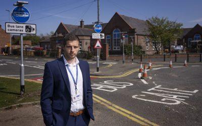 Bus gate to improve safety in County Durham village