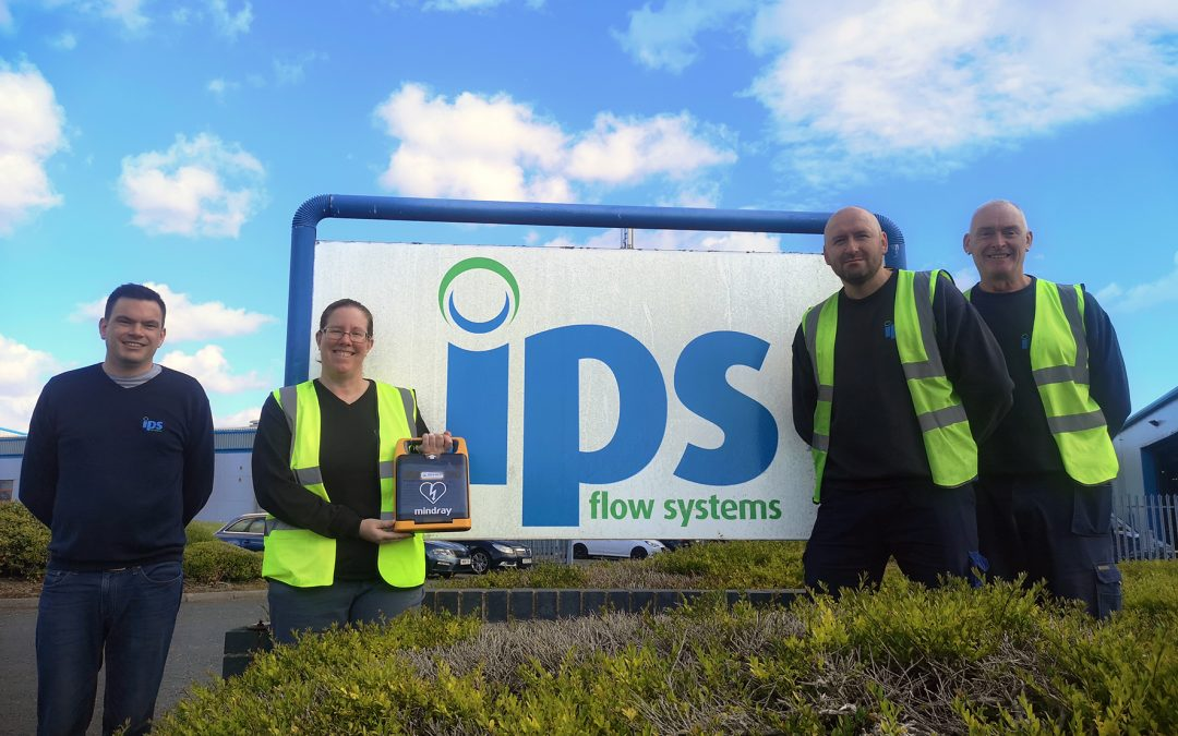 Seaham company installs defibrillator as it boosts its health and safety capabilities