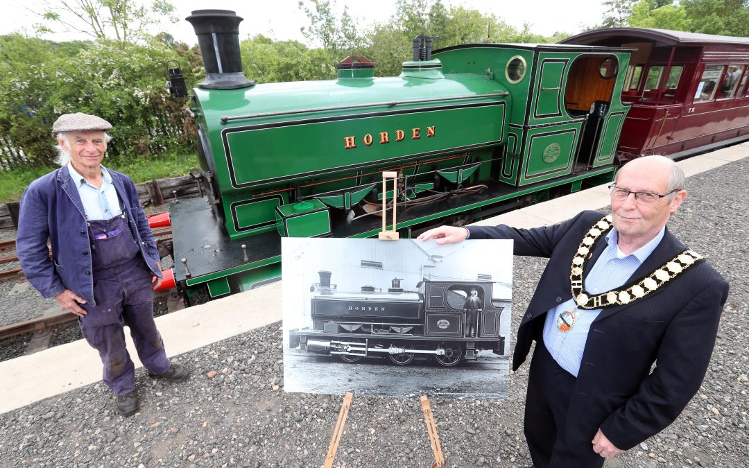 117-year-old steam locomotive 'Horden' re-launched after mammoth restoration