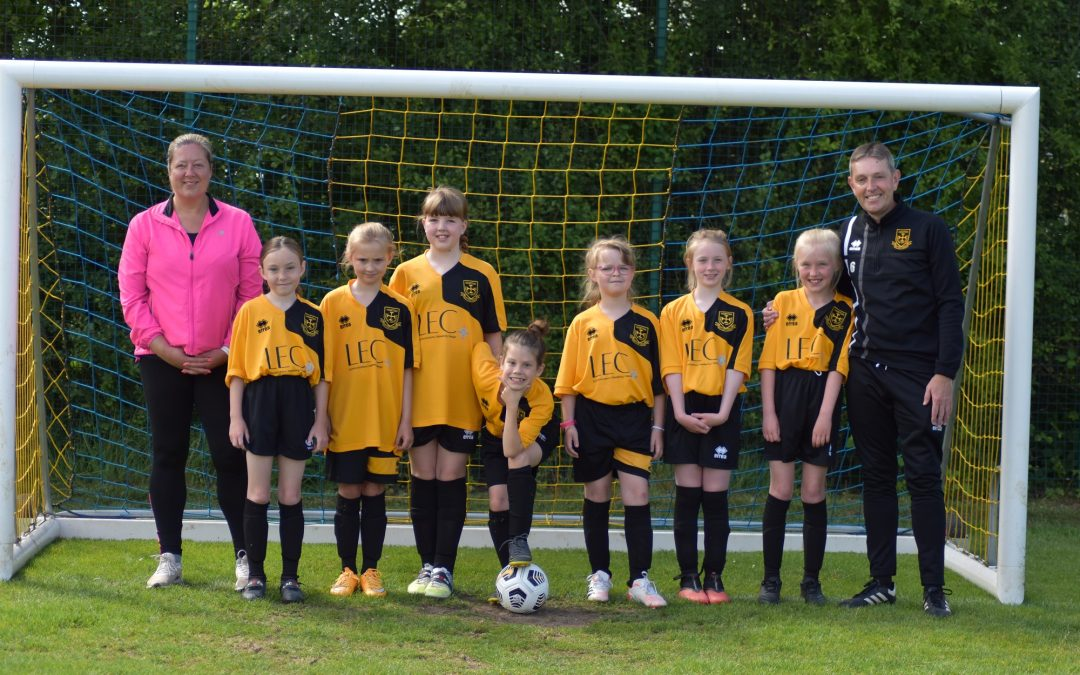 Peterlee communications company confirms sponsorship of Under 10s football team